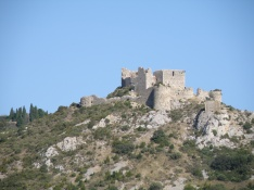 Cathar Castle of Aguilar © Sunny French Property