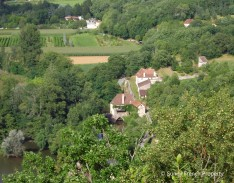 Dordogne typical landscape