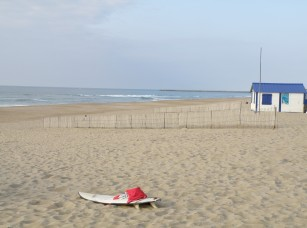 Wide beach in Anglet © Sunny French Property