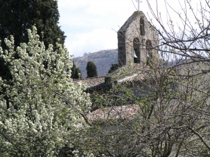 © Sunny French Property - Village's listed mediaeval church