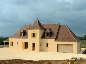 New build home - La Quercinoise