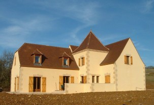 New build home - Perceval manor house in Sarlat