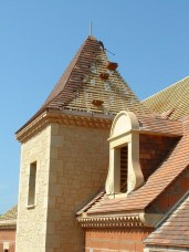 New build house in Dordogne - example of pigeonnier