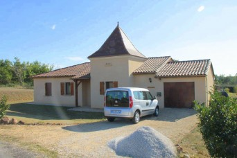 New build property in Dordogne